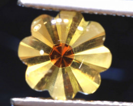 1.70 CTS  -CITRINE FLOWER CARVING    LG-14