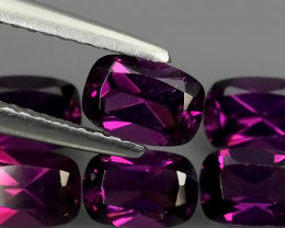 4.25 CTS~EXQUISITE NATURAL UNHEATED PURPLE COLOR RHODOLITE GARNET!!