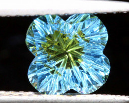 2.06 CTS -TOPAZ FLOWER CARVING    LG-25