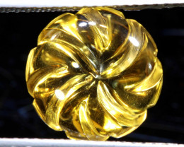 4.60 CTS -CITRINE FLOWER CARVING   4.60 CTS  LG-28