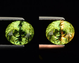 1.36 CT SPHENE WITH DRAMATIC FIRE GEMSTONE SP2