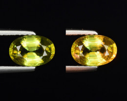 1.05 CT SPHENE WITH DRAMATIC FIRE GEMSTONE SP8