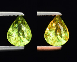 0.75 CT SPHENE WITH DRAMATIC FIRE GEMSTONE SP18