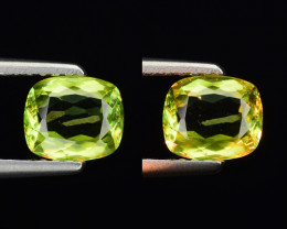 0.75 CT SPHENE WITH DRAMATIC FIRE GEMSTONE SP20