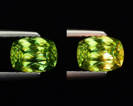 NATURAL SPHENE WITH DRAMATIC FIRE GEMSTONE SP26
