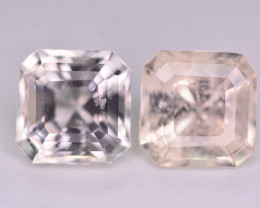 Pair 3.55ct Top Quality  Untreated  Natural Katlang Topaz ~ HM