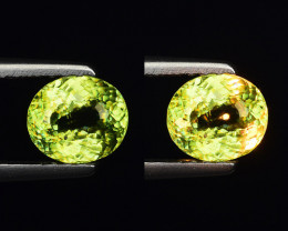0.77 CT SPHENE WITH DRAMATIC FIRE GEMSTONE SP28