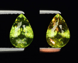 0.84 CT SPHENE WITH DRAMATIC FIRE GEMSTONE SP30