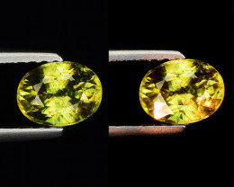 0.80 CT SPHENE WITH DRAMATIC FIRE GEMSTONE SP33