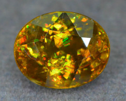 Rare AAA Fire 3.21 ct Sphene Sku-51