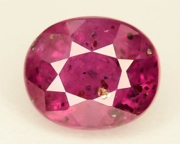 0.70 ct Natural Ruby ~ Mozambique