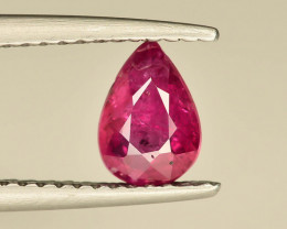 0.90 ct Natural Ruby ~ Mozambique