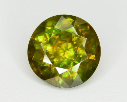 Rare AAA Fire 0.93 ct Chrome Sphene