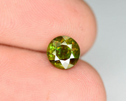 Rare AAA Fire 1.05ct Chrome Sphene