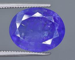 7.45 Crt Natural Tanzanite Faceted Gemstone.( AB 47)