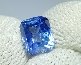 NO HEAT 2.14 CTS CERTIFIED NATURAL STUNNING OCTAGON MIX BLUE SAPPHIRE SRI L