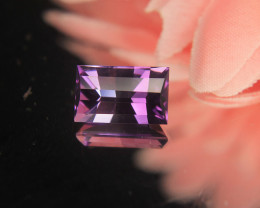 Bar Cut Bi Color Amethyst Cut By Master Cutter