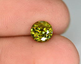 Rare AAA Fire 0.92 ct Chrome Sphene