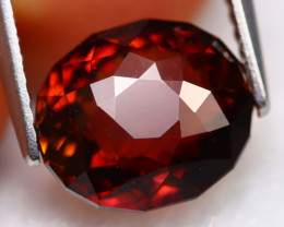 Red Tourmaline 3.77Ct Natural Mozambique Master Cut Red Tourmaline C1002