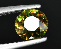 Rare AAA Fire 0.61 ct Chrome Sphene