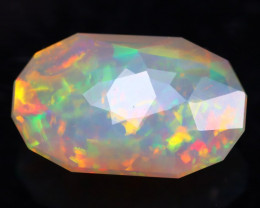 Welo Opal 2.00Ct Natural Ethiopian Welo Opal in Master Faceting C1010