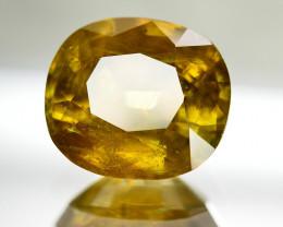 10.35 Ct Natural Ravishing Sphene Titanite  Loose Gemstone
