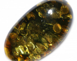 28 Cts  Green Amber Gemstones    AM 1725