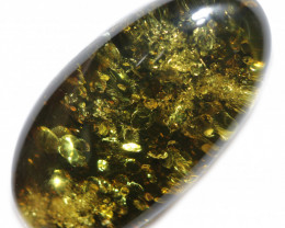 53 Cts  Green Amber Gemstones    AM 1730
