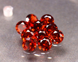 Garnet 6.05Ct 10Pcs Natural Spessartite Garnet ER42/B1