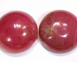 22.8 CTS RHODONITE (2PCS)  PAIR   LG-141