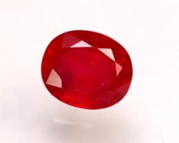 Ruby 3.58Ct Madagascar Blood Red Ruby E1401/A20