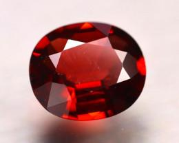 Rhodolite 2.93Ct Natural Red Rhodolite Garnet E1404/B3