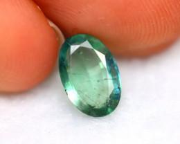 Emerald 1.37Ct Natural Zambia Green Emerald E1418/A37