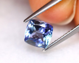 Tanzanite 1.35Ct Natural VVS Purplish Blue Tanzanite E1421/A45