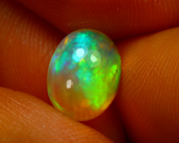 Welo Opal 1.40Ct Natural Ethiopian Play of Color Opal E1435/A28