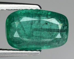 2.40 Ct Natural Emerald Zambian Top Quality Gemstone. EM 06