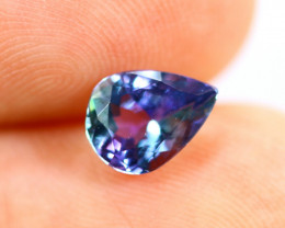 1.22cts Natural Violet Blue Colour Tanzanite / RD226