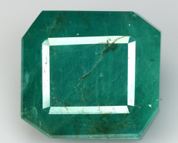 18.98 CT EMERALD TOP COLOR QUALITY GEMSTONE ZAMBIA ZE1