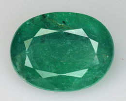 9.11 CT ZAMBIAN EMERALD TOP COLOR QUALITY GEMSTON  ZE3