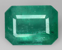 6.10 CT EMERALD TOP COLOR QUALITY GEMSTONE ZAMBIA ZE7