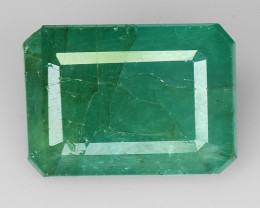 5.42 CT EMERALD TOP COLOR QUALITY GEMSTONE ZAMBIA ZE12