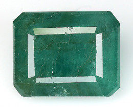5.64 CT EMERALD TOP COLOR QUALITY GEMSTONE ZAMBIA ZE14