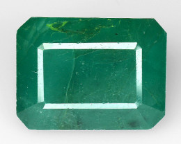 4.99 CT EMERALD TOP COLOR QUALITY GEMSTONE ZAMBIA ZE15