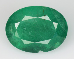 4.31 CT EMERALD TOP COLOR QUALITY GEMSTONE ZAMBIA ZE16