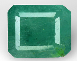 3.88 CT EMERALD TOP COLOR QUALITY GEMSTONE ZAMBIA ZE18