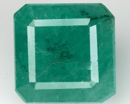4.95 CT EMERALD TOP COLOR QUALITY GEMSTONE ZAMBIA ZE20