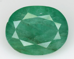 4.29 CT EMERALD TOP COLOR QUALITY GEMSTONE ZAMBIA ZE26