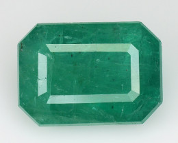 4.27 CT EMERALD TOP COLOR QUALITY GEMSTONE ZAMBIA ZE27