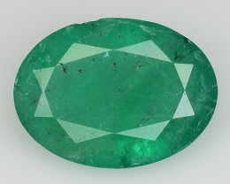 2.14 CT EMERALD TOP COLOR QUALITY GEMSTONE ZAMBIA ZE28