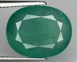 7.21 CT EMERALD TOP COLOR QUALITY GEMSTONE ZAMBIA ZE29